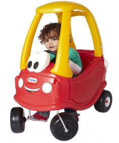 Little Tikes 30th Anniversary Cosy Coupe. For 30 years children have been taking adventure and imagination on the road with one of the original ride on toys.