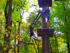 TreeTops Adventure Course at Camelback Mountain Adventures! #IAmAdventure #ZipLine