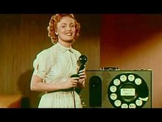Dialing Tips circa 1950 American Telephone & Telegraph - Bell System https://www.youtube.com/watch?v=APcODrfhcVQ #telephone #phone #communications