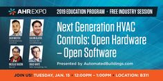 Standing Room Only Session -> Next Generation HVAC Controls: Open Hardware – Open Software - ControlTrends Dawn, Software, February, Conditioner, Hardware, Education, Youtube, Room, Bedroom