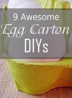9 Awesome Egg Carton DIYs