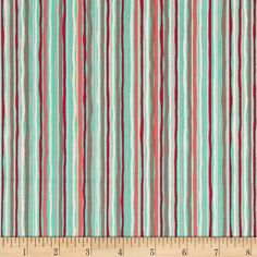 Nested Owls Hoot Stripe Coral/Multi