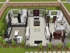 The Sims Sims  House Plans Home Plans House Design Sims House Floor Plans