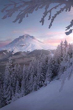 Winter is coming! - Mt. Hood by Lijah Hanley