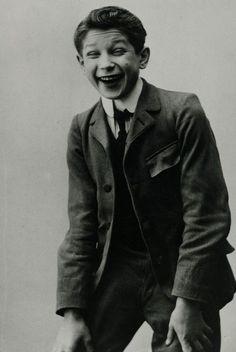 A young Maurice Chevalier, cir. 1900