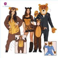 #Disfraces divertidos de #Ositos para grupos #mercadisfraces tienda de…