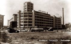 Philips Lichttoren aan de Emmasingel in vroegere tijden.
