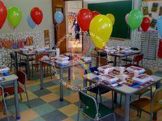 Festa na escola.