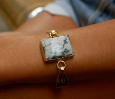 HOOKED STONE BRACELETS by Cleopatras Bling:: Authentic Agate