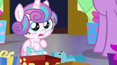 Discover & share this Mlp GIF with everyone you know. GIPHY is how you search, share, discover, and create GIFs. Flurry Heart, My Little Pony Cartoon, Little Poney, Mlp Pony, Stickers Online, Equestria Girls, Smurfs, Friendship, Gifs