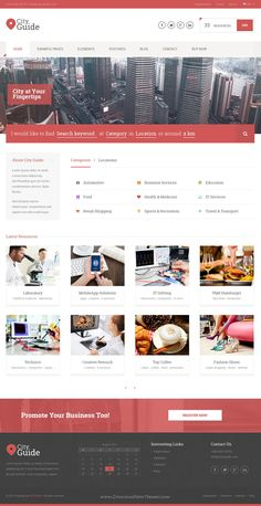 City Guide is fabulous responsive premium #WordPress #Theme for directory listing #website. Download Now!