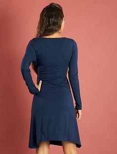 Robe de grossesse cache-cœur en maille stretch ... 4dd0013199d