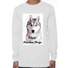 T-Shirts I Love Alaskan Dogs