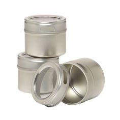 Kamenstein Magnetic Spice Rack, Extra Tins (1002) Kamenstein http://www.amazon.com/dp/B0002TG2YM/ref=cm_sw_r_pi_dp_CGftvb0F3B0QP