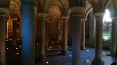 Abbadia S. Salvatore – the crypt of the abbey