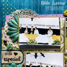 Hilda Designs: Blog Hop Scrapbook Day en LC