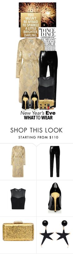 """""""NYE Dance Party"""" by shortyluv718 on Polyvore featuring By Malene Birger, Isabel Marant, sass & bide, KOTUR, Marni, Gucci, Chanel and nyestyle"""