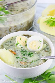 Soup Recipes, Cooking Recipes, Polish Recipes, Polish Food, B Food, Quick Easy Meals, Soups And Stews, Food And Drink, Healthy Eating