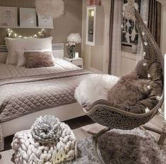 Bedroom Design Ideas – Create Your Own Private Sanctuary Bedroom Ideas For Small Rooms Women, Bedroom Decor For Teen Girls, Cute Bedroom Ideas, Room Ideas Bedroom, Small Room Bedroom, Cute Teen Bedrooms, Small Girls Bedrooms, Pink Bedrooms, White Bedroom