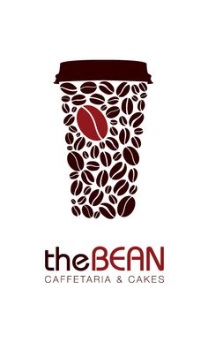 The Bean - Cafeteria & Cakes by Yanko Djarov, via Behance