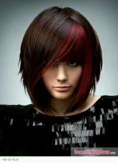 Red highlights - just like the chunky red