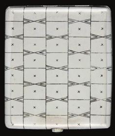 JOSEF HOFFMANN (1870-1956) Cigarette Case