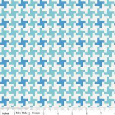 Riley Blake Millie's Closet - Coat in Blue - by Lori Holt of Bee In My Bonnet  - Half Yard. $5,00, via Etsy.