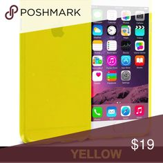 🆕 ʏᴇʟʟᴏᴡ ɪᴘʜᴏɴᴇ 7 ᴄᴀsᴇ New with tags!🆕🆕 Colorful transparent case in Yellow protects your iPhone from drops and bumps  Slim design doesn't add much bulk  Features advanced shock absorption and air-cushioned corners  Free access to speakers, camera, and ports  Made of polycarbonate and TPU   Made for iPhone 7 only Accessories Phone Cases