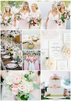 3b90b6dc8d97 Pretty Pink and Floral Wedding Inspiration