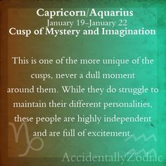 Capricorn/Aquarius Cusp Part 2 - I've really wondered about this in myself. Capricorn Aquarius Cusp, Capricorn Facts, Aquarius Woman, Zodiac Signs Aquarius, Capricorn And Aquarius, Aquarius Zodiac, Astrology Zodiac, Astrology Signs, Cusp Signs
