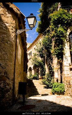 Tossa de Mar , Catalonia by light-chrysalis