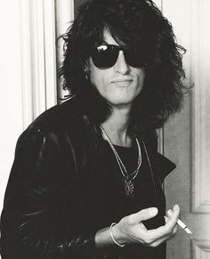 """""""What I like about Aerosmith, and what we always try to do, is to keep to balance of fun. There's enough shit goin on.""""- Joe Perry"""