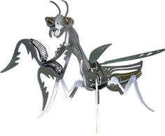 Amazon.com: OWI Mega Mantis Aluminum Skulpture  $12