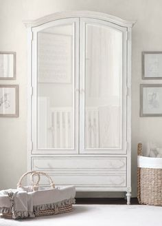 A Beautifully Practical Armoire Makes A Grand Statement. Nursery ArmoireBaby  ...