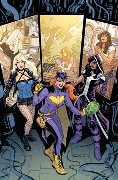 Batgirl and the Birds of Prey #5 - Yanick Paquette