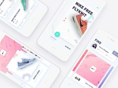 women sports clothes shopping app, try to combine shopping and social, while sharing through shopping to get more friends between the interaction, in the design of trying to my page and find the pa. App Ui Design, User Interface Design, Design Web, Jessica Delgado, Nike Free, To Do App, Motion App, Screen Design, Ui Inspiration