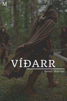 Vidarr meaning Forest Warrior Old Norse names V baby boy names V baby names Namen Fantasy