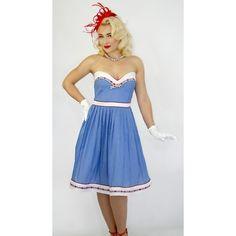 Designer Clothes, Shoes & Bags for Women Skirt Outfits, Kansas, Promotion, Strapless Dress, Kitten, Feminine, Summer Dresses, Retro, Skirts