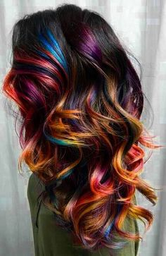 Rainbow highlights