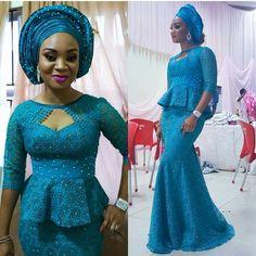 Fashionista @laarin in @jbliving. #AfricanSweetheartWeddings #asoebi #asoebicrush #nigerianwedding