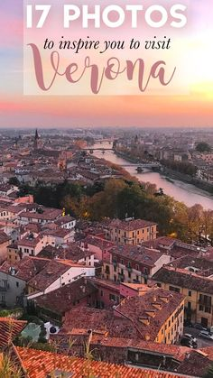 Verona, Italy is an absolutely beautiful city. If you're looking for places to travel in Europe, this should be your next stop! We'll show you hidden views in the city and picturesque parts of the city of love. Make sure you save this travel inspiration pin to your travel board so you can find these beautiful spots on your next trip to Verona. #Verona #ItalyTravel #ItalyInspo #VeronaItaly