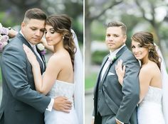 Alta Vista Country Club in Placentia wedding with purple wedding colors gorgeous bride and groom in Irvine California wedding photographs based in Los Angeles top wedding photographers of the year gorgeous purple flowers above gazebo and wedding alter with hydrangeas and amaranths