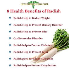 Want to look younger? Eat radishes! #health #healthylife #healthy
