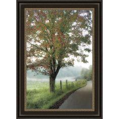 D. Burt 'Almost Autumn' Framed Print | Overstock.com Shopping - The Best Deals on Prints