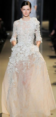 """Paris Haute Couture: Elie Saab spring/summer 2013 ✮✮""""Feel free to share on Pinterest"""" ♥ღ www.fashionupdates.net"""