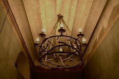 hunting chandelier