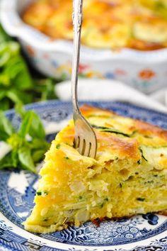 Bisquick Casserole Recipe, Low Carb Zucchini Recipes, Casserole Recipes, Pie Recipes, Veggie Recipes, Vegetarian Recipes, Healthy Recipes, Zucchini Casserole