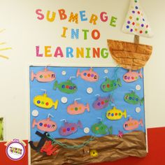 The Learning Experience's June 'Under the Sea' curriculum is in full swing at TLE Concord, MA!