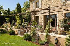 Clos Paradou, A prestige rental | Paradou, Provence, South of France. #PergolaWithSunshade