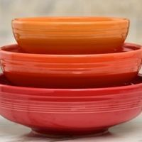 Fiesta Dinnerware - bistro bowl set mix and match (145)